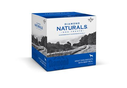 Picture of DIAMOND NATURALS ADULT DOG BISCUITS BEEF 19#