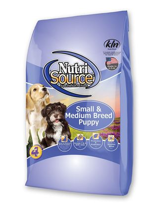 NUTRISOURCE G.F. SMALL/MED PUPPY