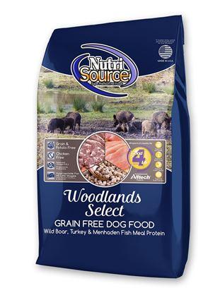 NUTRISOURCE GRAIN FREE WOODLANDS 30#