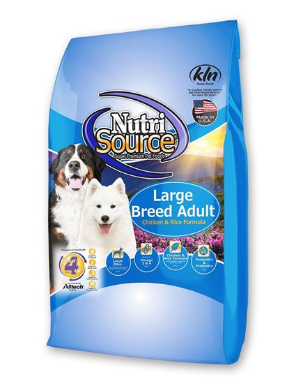 NUTRISOURCE LARGE BREED ADULT 33#