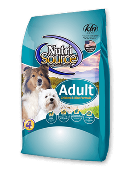 NUTRISOURCE ADULT DOG CHICKEN & RICE