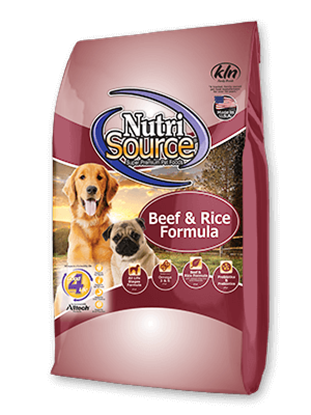 NUTRISOURCE BEEF & RICE